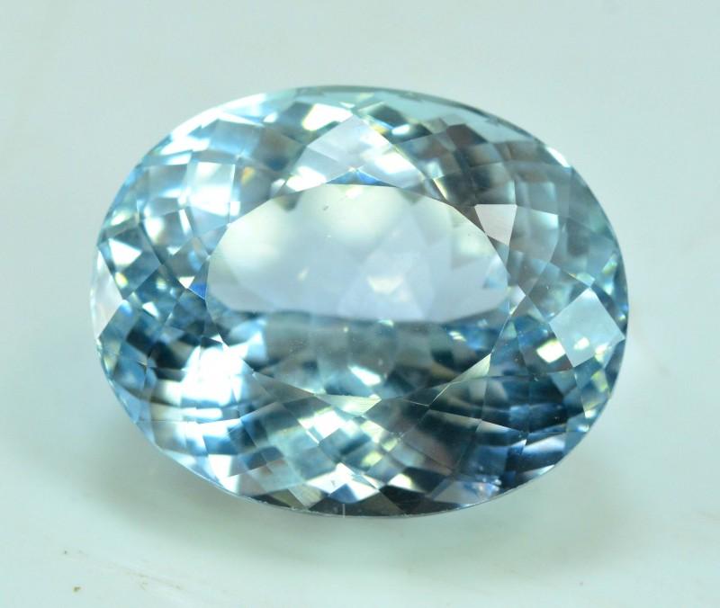 32.80 cts Aqua Color spodumene Gemstone From AFG (A)