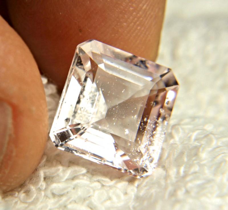 7.74 Carat Pink Brazil Morganite - Gorgeous