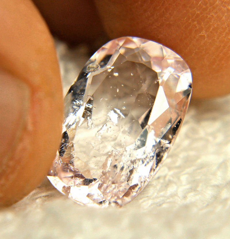 6.25 Carat Brazil SI Morganite - Gorgeous
