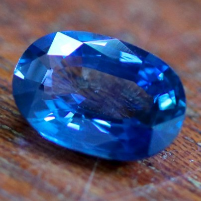 CERTIFIED 2.61 CTS UNHEATED BLUE SAPPHIRE -MADAGASCAR[STS963]