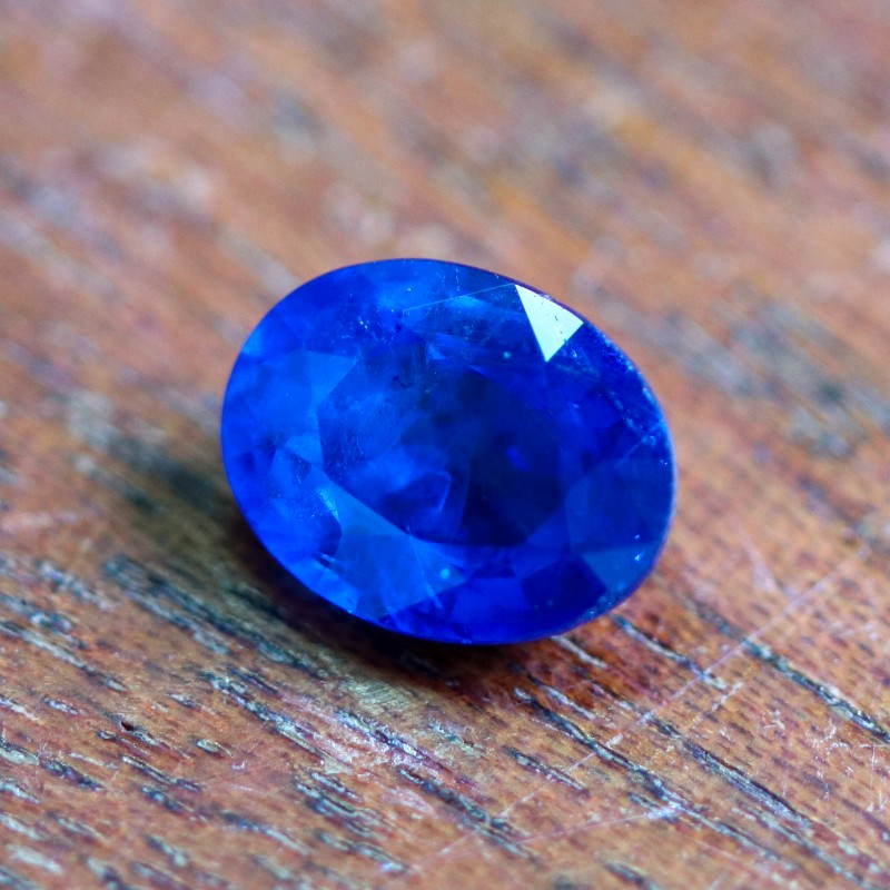 CERTIFIED 2.08 CTS SPINEL RICH  COBALT BLUE [STS975](12041803)