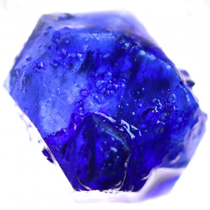 25.65 CTS BLUE SAPPHIRE ROUGH-AFRICA TREATED [F7321]
