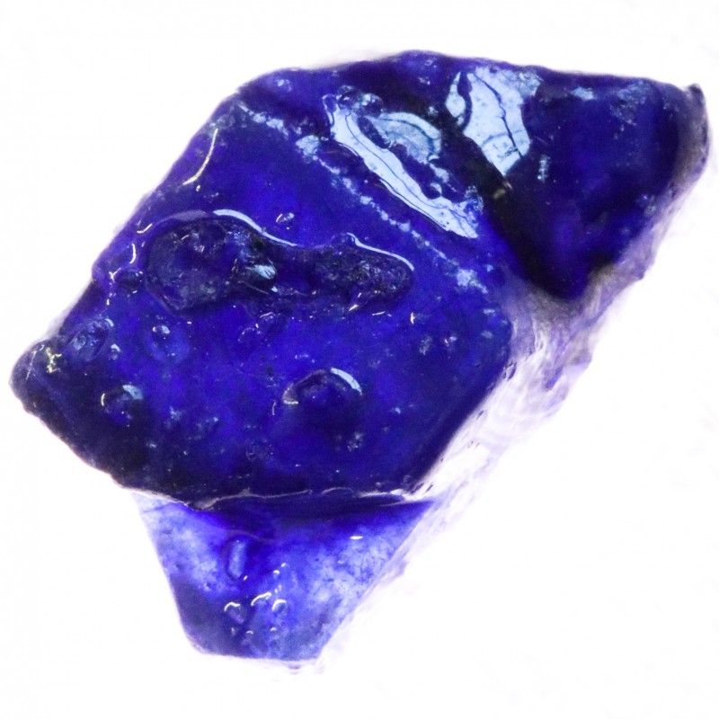 22.90 CTS BLUE SAPPHIRE ROUGH-AFRICA TREATED [F7330]