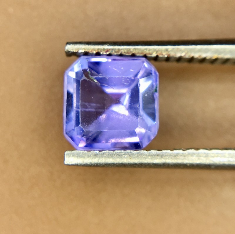 0.75 Crt Natural Tanzanite Good Quality Faceted Gemstone