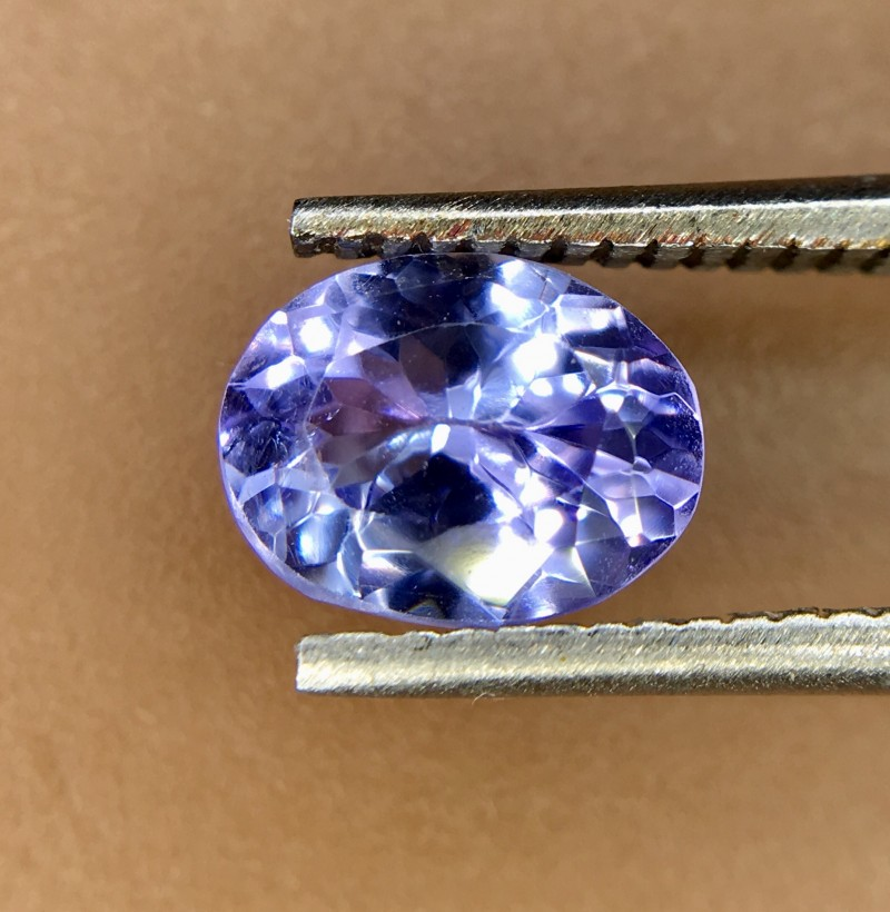 0.85 Crt Natural Tanzanite Good Quality Faceted Gemstone
