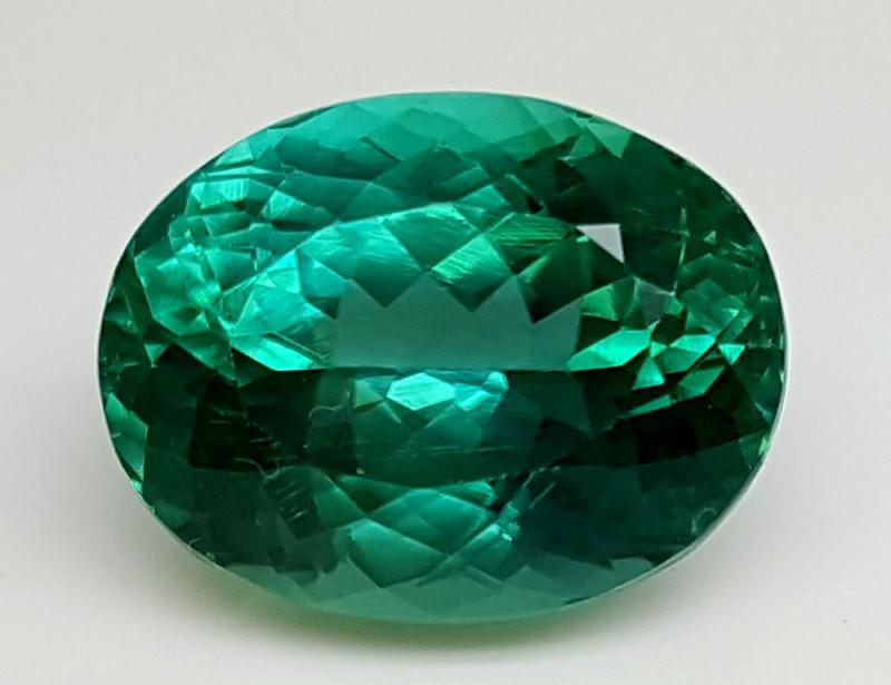 14.30Crt Top Green Spodumene Best Faceted Gemstones GS26