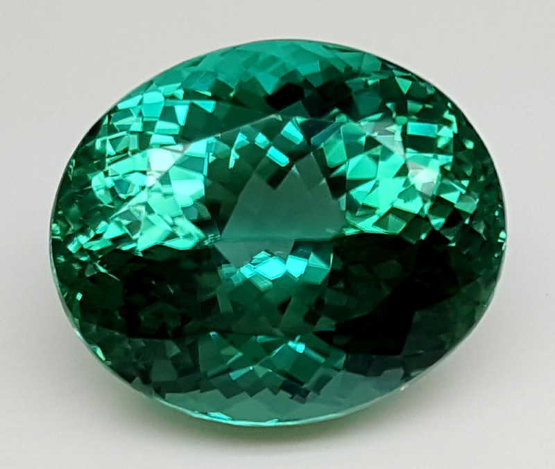 26.30Crt Top Green Spodumene Best Faceted Gemstones GS16