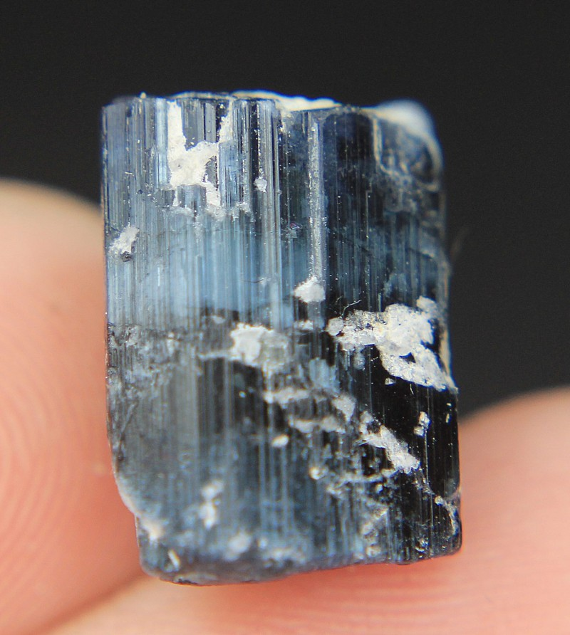 Wow Amazing Blue Cat's Eye Tourmaline Crystal From Pakistan.
