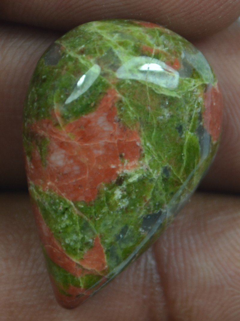 auctions gemstone untreated natural ct unakite naturaluntreated beautiful