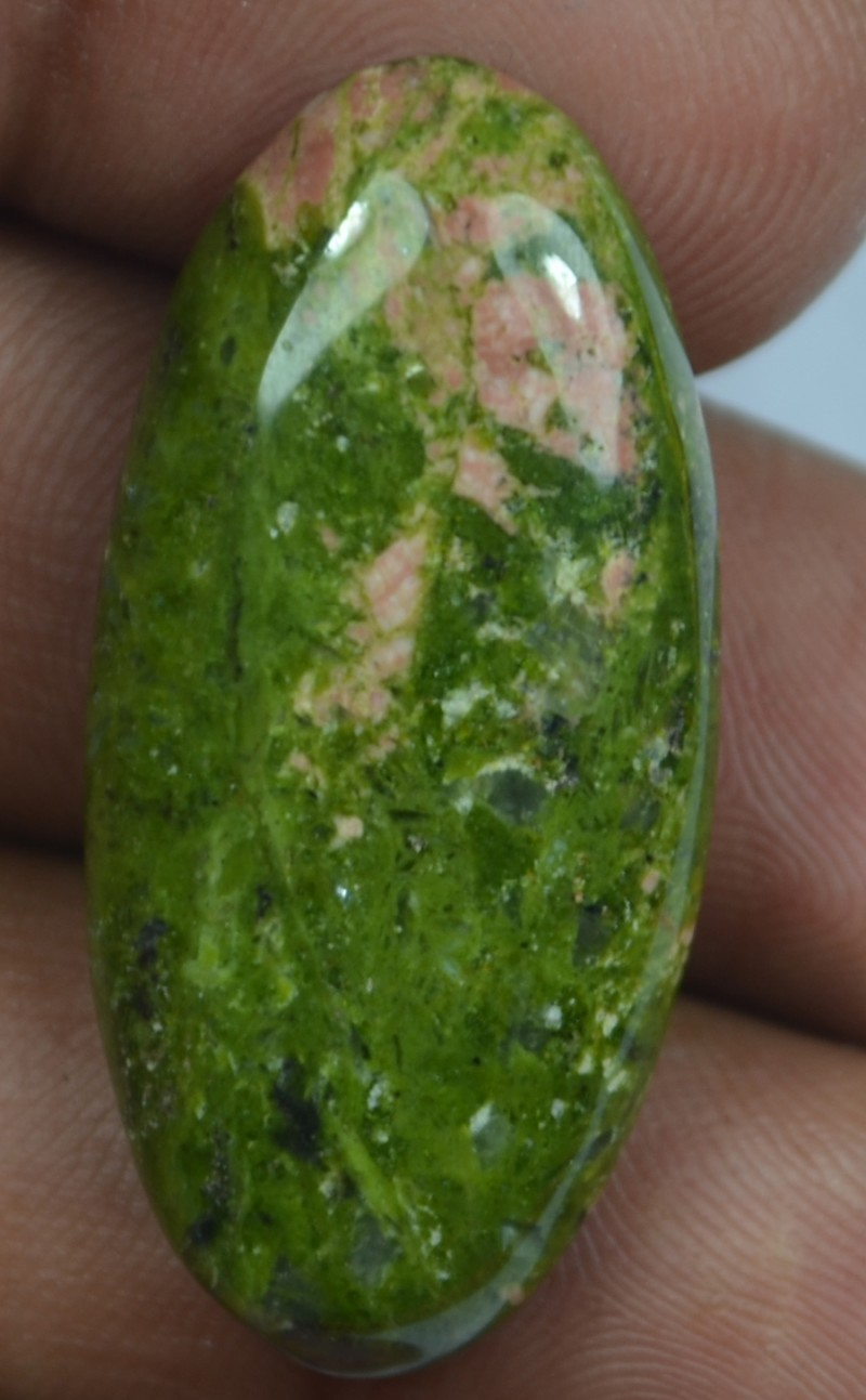 beautiful natural gemstone naturaluntreated auctions untreated unakite ct