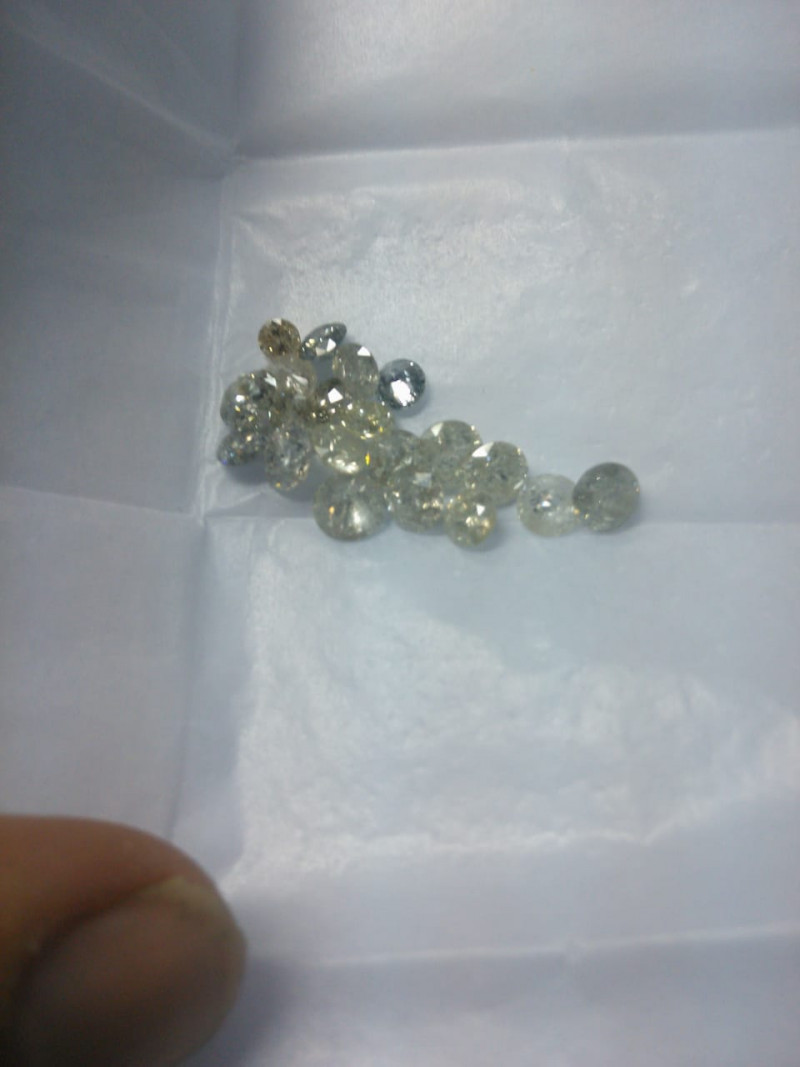 11.25ct White  Diamond Parcel, 100% Natural Untreated