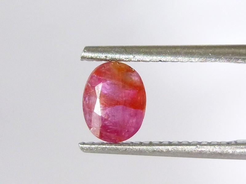 1.33cts Natural Burmese Ruby , Untreated Gemstone