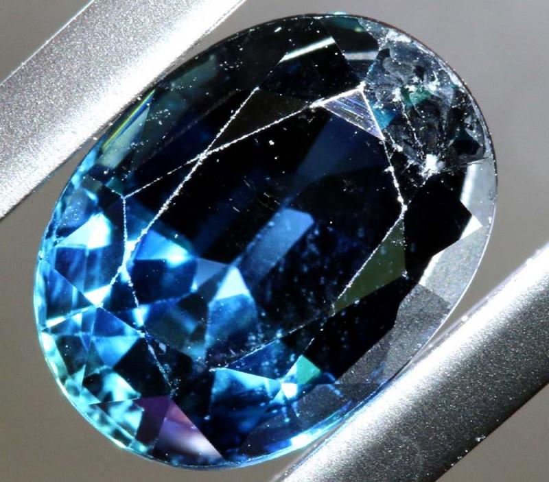 2.5CTS  BLUE SAPPHIRE GEMSTONE TBM-1412-TRUEBLUEMINERALS
