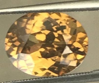 Very Luminous 5.5ct Ceylon Yellow Zircon  ZA02