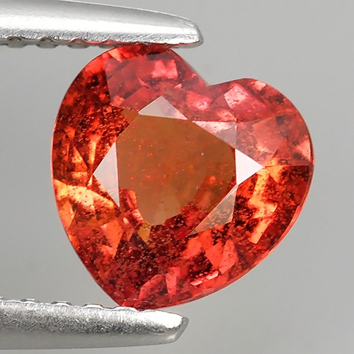 1.55 CTS EXCELLENT NATURAL ULTRA RARE MADAGASAR ORANGE SAPPHIRE NR!!!