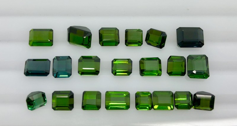 20.35 CT Natural Green  Tourmaline Beautiful Gemstone L3
