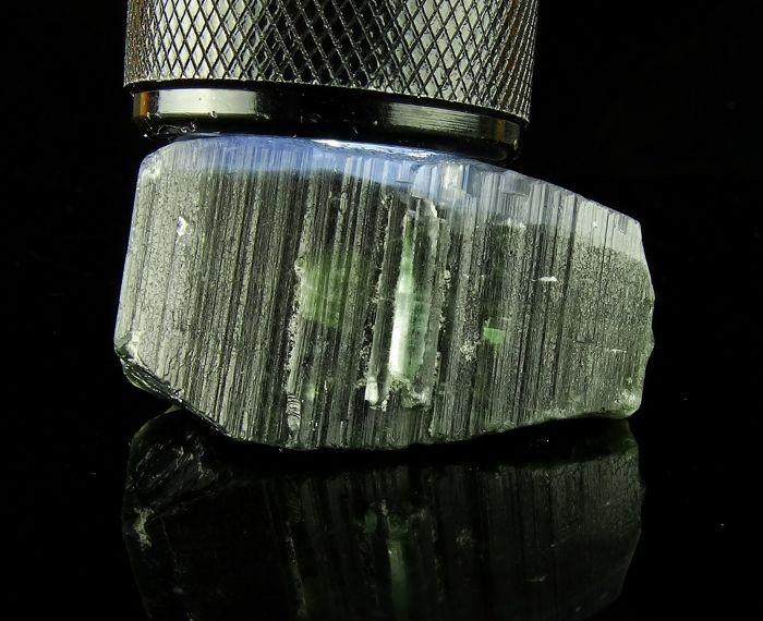 Tourmaline crystal Blue Cap - 49,82 grams - Afghanistan