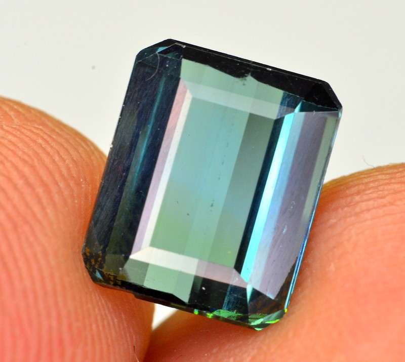 2.45 ct GORGEOUS COLOR BLUISH INDICOLITE TOURMALINE