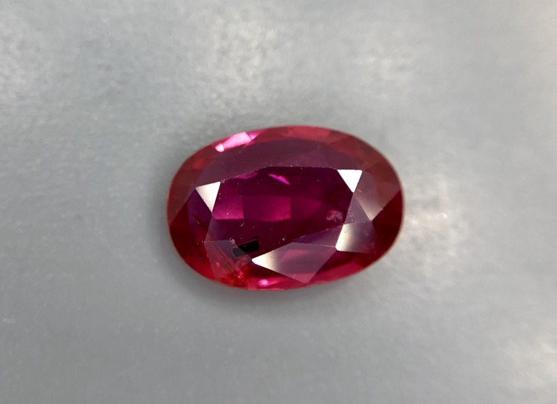 0.94 CRT GIL Certified Natural Unheated Ruby Facetted Gemstone