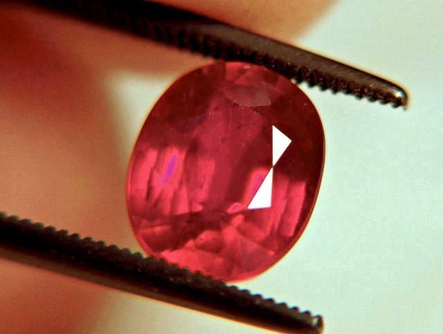3.43 Carat Pigeon Blood Ruby - Gorgeous Gemstone