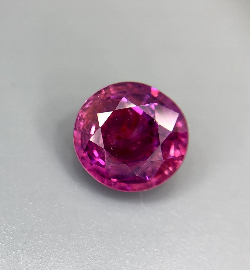 1.31 CRT GIL Certified Natural Unheated Ruby Facetted Gemstone