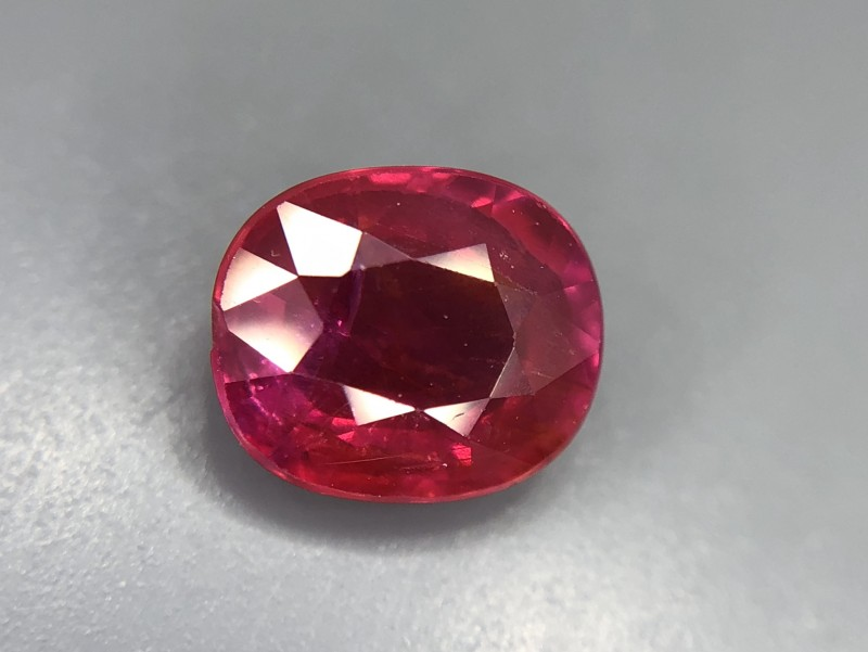 1.32 CRT GIL Certified Natural Unheated Ruby Facetted Gemstone