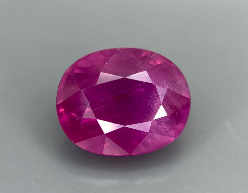 1.46 CRT GIL Certified Natural Unheated Ruby Facetted Gemstone