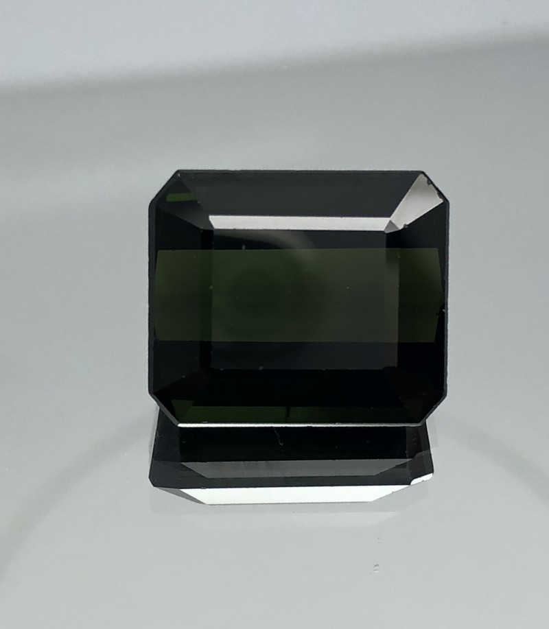 13.80 CT Natural Green  Tourmaline Beautiful Gemstone