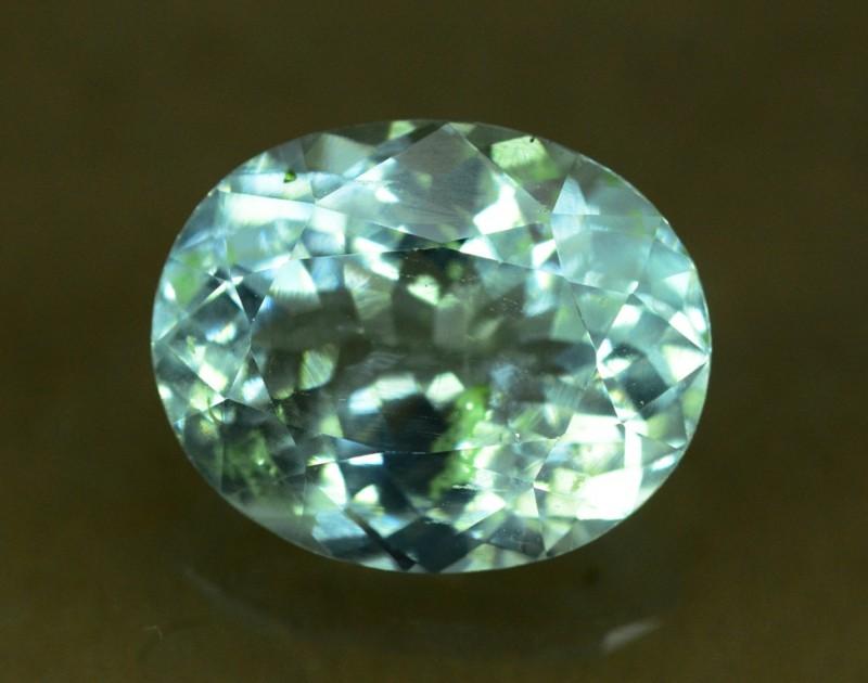 5.85 cts Untreated Aquamarine Gemstone from Pakistan