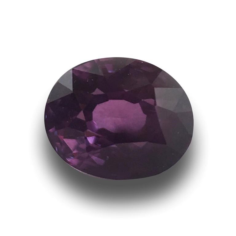 Natural Purple Sapphire   Loose Gemstone   Sri Lanka Ceylon - New
