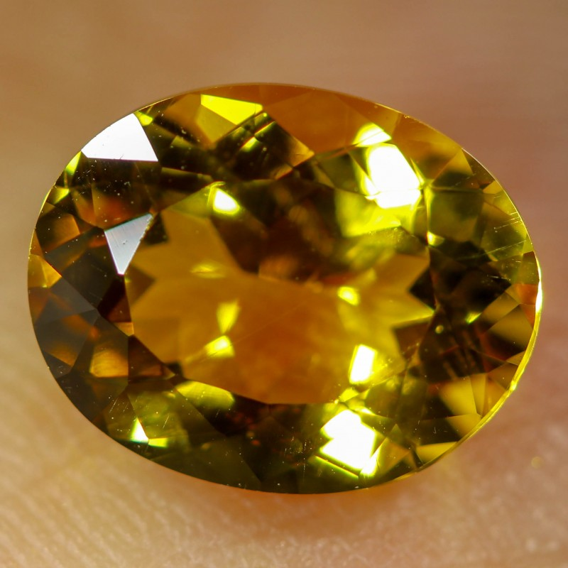 2.65 CTS FIERY  CITRINE -CUT FROM OUR ROUGH  [STS1124]