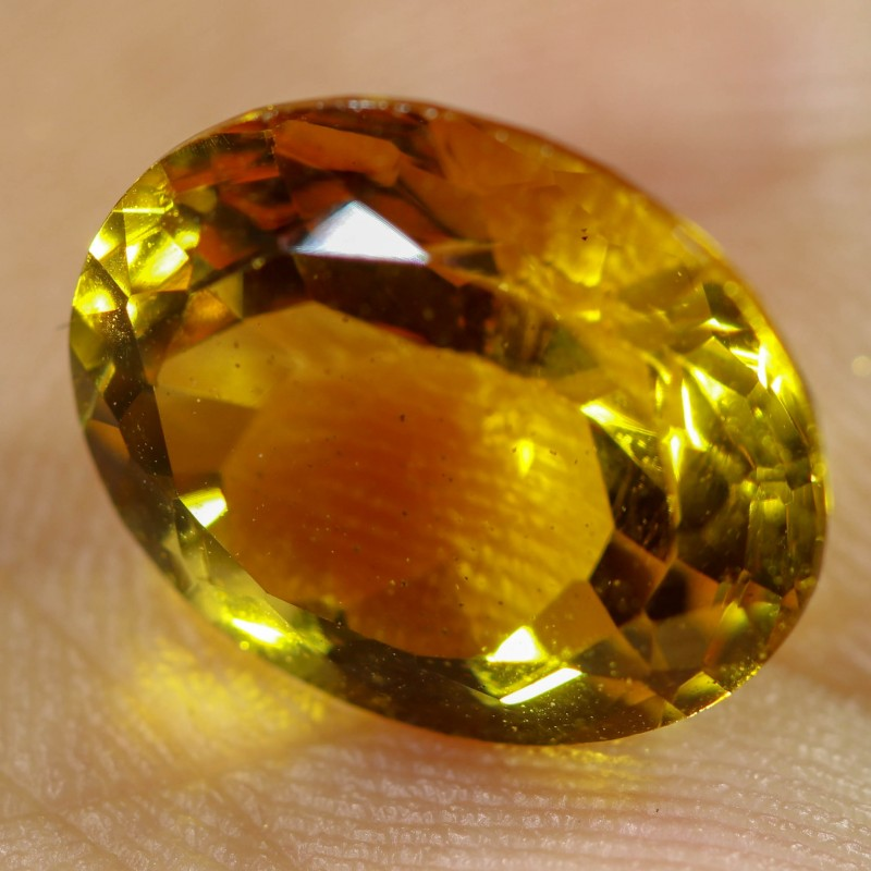 4.65 CTS FIERY  CITRINE -CUT FROM OUR ROUGH  [STS1131]