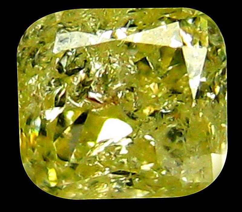 NR 0.18cts  PGTL Certified FANCY LIGHT YELLOW Natural Diamond
