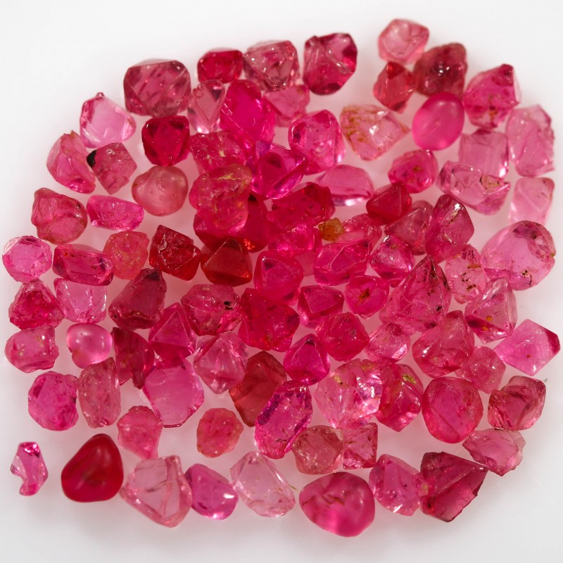 5.25 CTS SPINEL NATURAL CRYSTALS-BURMA  [STS1135]