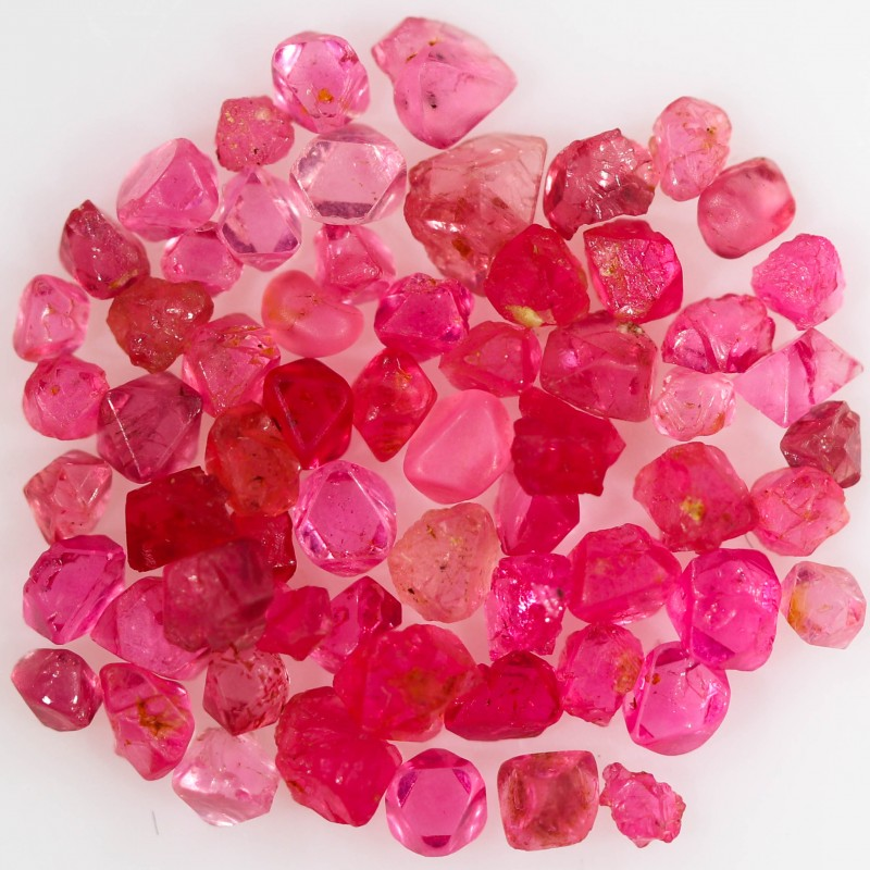 4.75 CTS SPINEL NATURAL CRYSTALS-BURMA  [STS1145]