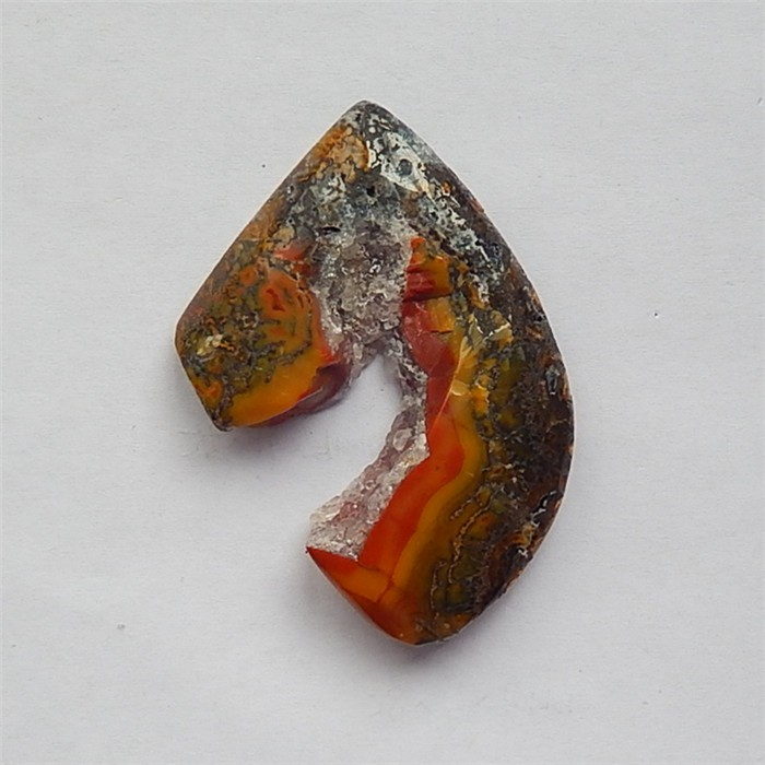 137.5ct Warring States Red Agate  Gemstone  Cabochon(18031415)