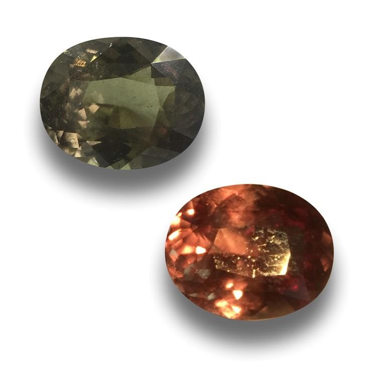 Natural Unheated Colour Changing Garnet|Loose Gemstone| Sri Lanka