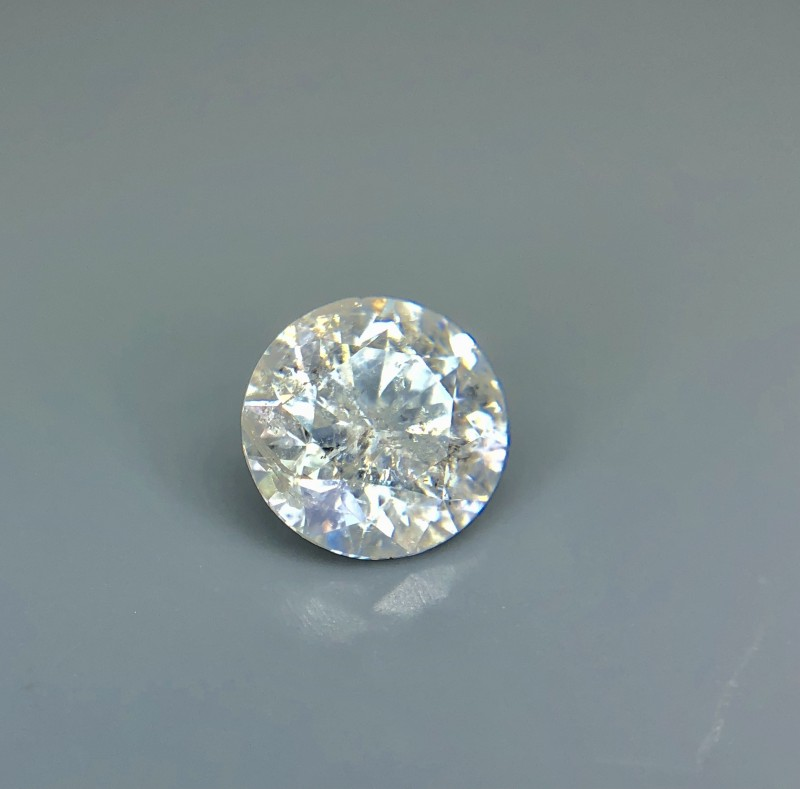 0.62 CT Certified Natural Diamond Beautiful Faceted Gemstone