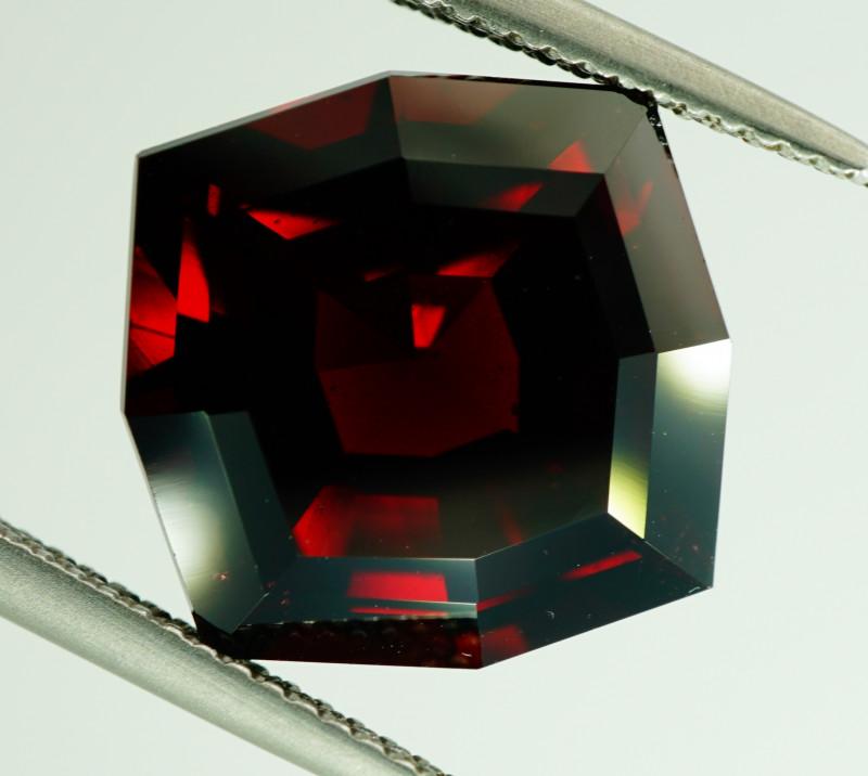 Unheated - 12.42 ct Natural Rhodolite Garnet – IGE Certificate