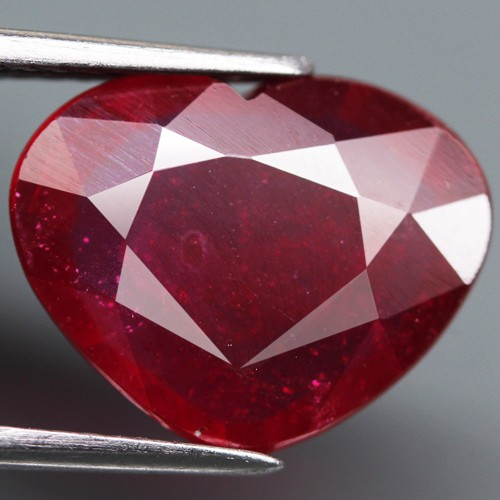 4.40 Cts Top Quality Blood Red Natural Ruby Mozambique Gem