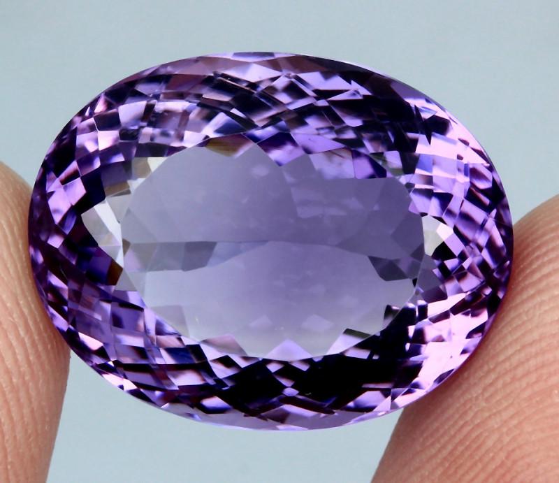 23.50 ct. 100% Natural Top Nice Purple Amethyst Unheated Brazil