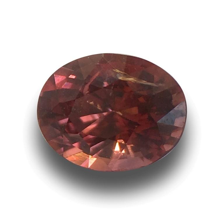 Natural Unheated Pinkish Orange Sapphire |Loose Gemstone| Sri Lank