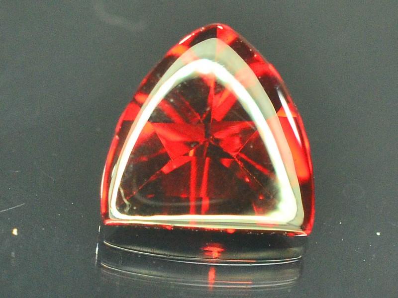 1.70 ct Natural Laser Cut Red Rhodolite Garnet