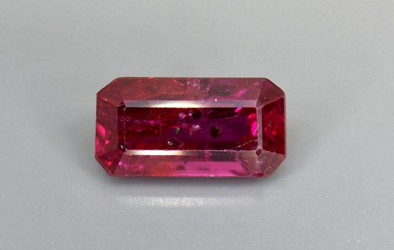 1.04 CRT GIL Certified Natural Unheated Ruby Facetted Gemstone