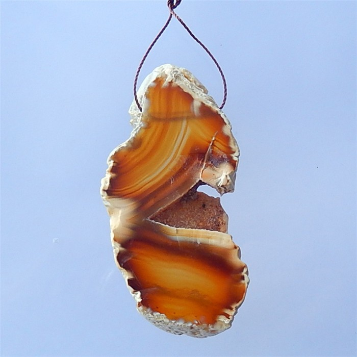 115.5Ct  Nugget Red Agate Pendant(18032122)