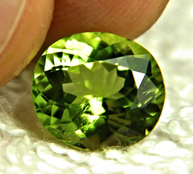 4.19 Carat VS Green Himalayan Peridot - Gorgeous