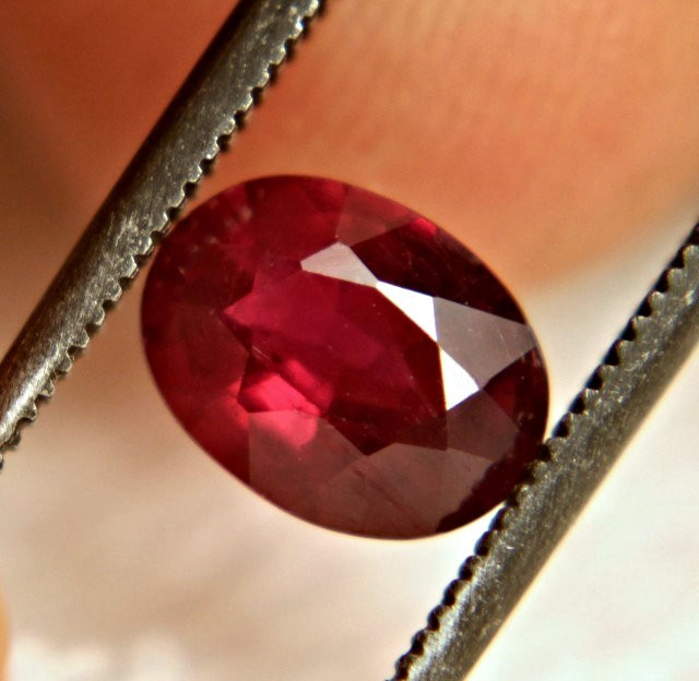 1.21 Carat Fiery Pigeon Blood Ruby - Gorgeous