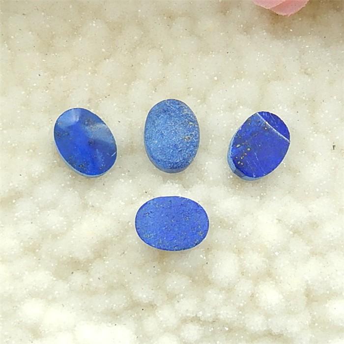 58.5ct 4Pcs  Natural Oval Cut Lapis Lazuli Cabochon (18032203)