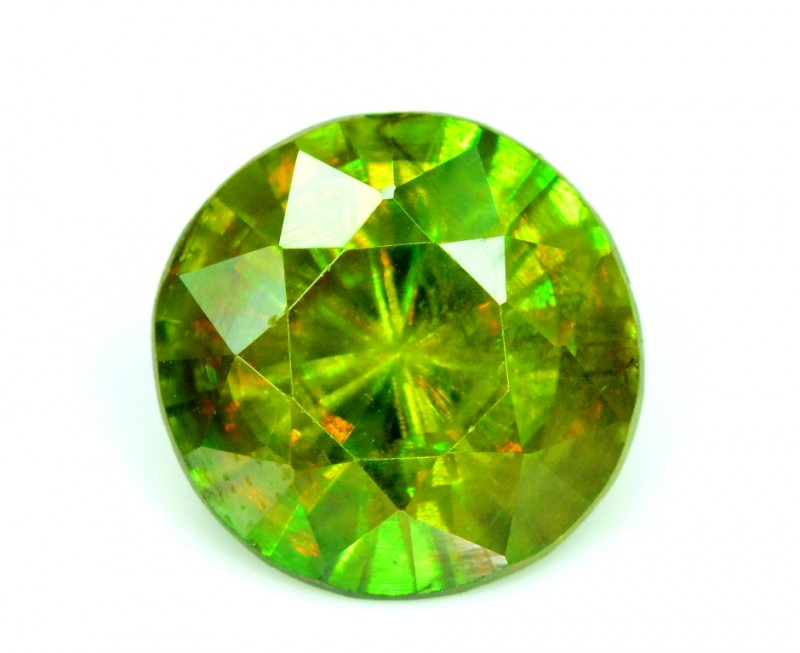 2.05 carats AAA Color Full Fire Natural Chrome Sphene from Pakistan