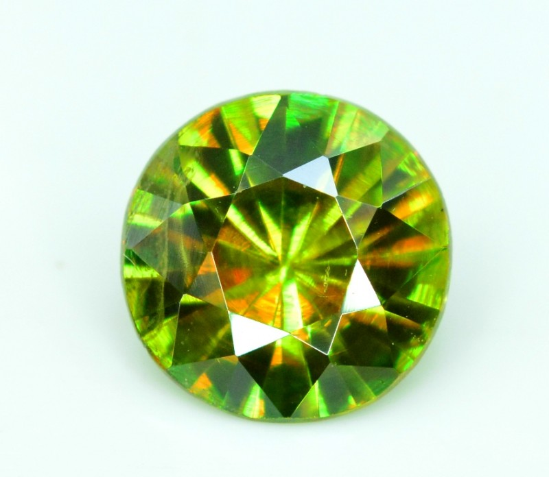 1.15 carats AAA Color Full Fire Natural Chrome Sphene from Pakistan